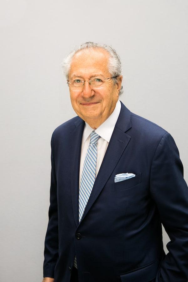 Leon Levy portrait